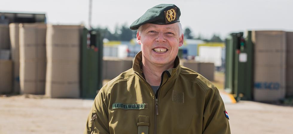 Luitenant-Kolonel Edwin Leidelmeijer