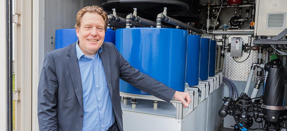 Smartbase Joost Oosterling met zijn innovatie