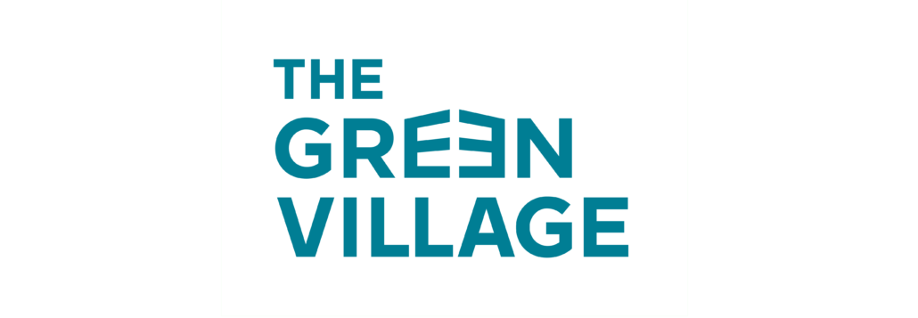 Green Village Logo-aquamedium logo