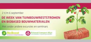 Week van de tuinbouwreststromen - minisymposium
