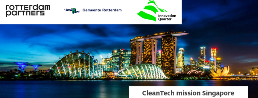 CleanTech mission to Singapore led by vice mayor of Rotterdam Ms. Kathmann