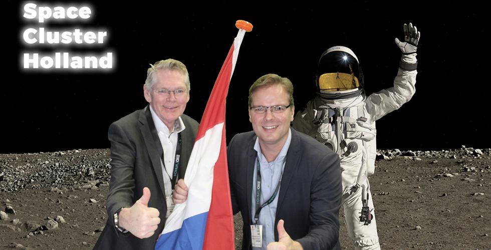 Space Cluster Holland in trek op Space Tech Expo Bremen 004