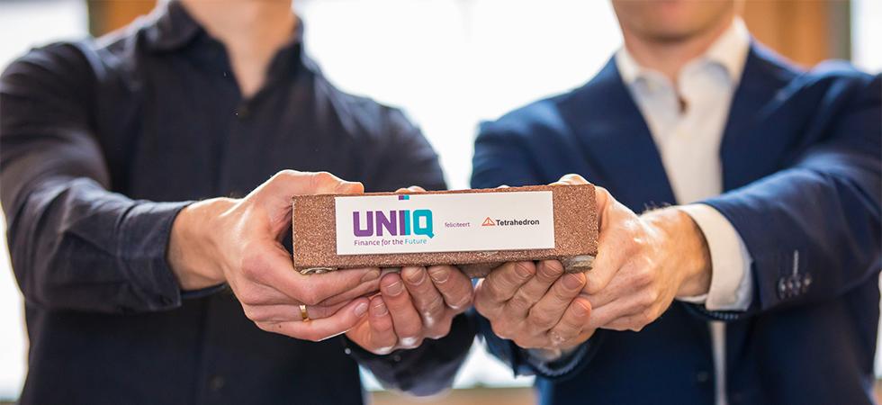 Foto UNIIQ-investering voor Tetrahedron