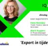 IQ Live Webinar Export Corona 2