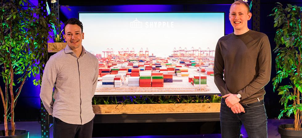 7 miljoen | Investering Shypple | Jarell Habets | Laurens Groenendijk | Rotterdam