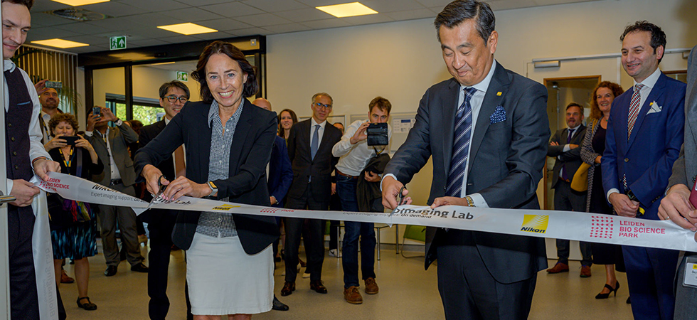 first European Nikon BioImaging Lab now open in Leiden 2
